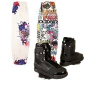 Liquid Force Super Trip Wakeboard + Ultra CT Wakeboard Bindings 2014