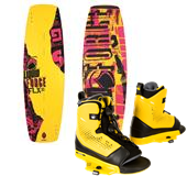 Liquid Force FLX Wakeboard + Ultra OT Wakeboard Bindings 2014