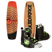 Liquid Force Slab Wakeboard + Index Wakeboard Bindings 2014