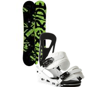Ride Agenda Snowboard + Burton Freestyle Bindings 2014