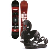 Flow Merc Snowboard + Union DLX Bindings 2014