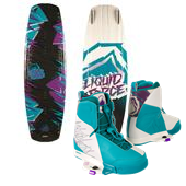 Liquid Force Harley Grind Wakeboard + Harley Wakeboard Bindings 2014