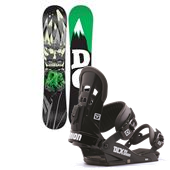 DC Focus Snowboard + Union DLX Bindings 2014