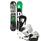 DC Focus Snowboard + Burton Freestyle Bindings 2014
