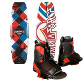 Liquid Force Fusion Wakeboard + Transit Wakeboard Bindings 2014