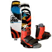 Liquid Force Classic Wakeboard + Domain Wakeboard Bindings 2014