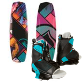 Liquid Force Jett Wakeboard + Transit Wakeboard Bindings - Women's 2014