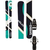 Volkl Shiro Skis + Rossignol Axial2 120 Ski Bindings 2013