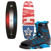CWB 'Merica Wakeboard + MD Wakeboard Bindings 2014