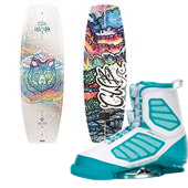 CWB Wild Child Wakeboard + Ember Bindings - Women's 2014