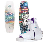 CWB Wild Child Wakeboard + Sage Bindings - Women's 2014