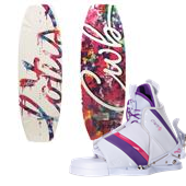 CWB Lotus Wakeboard + Bliss Bindings - Women's 2014