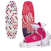 CWB Bella Wakeboard + Lulu Bindings - Girl's 2014