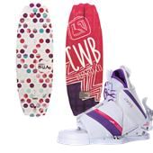 CWB Bella Wakeboard + Bliss Bindings - Women's 2014