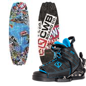 CWB Surge Wakeboard + Tyke Bindings - Boy's 2014