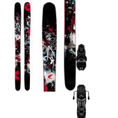 Rossignol Super 7 Skis + Axium 120 XXL Bindings 2013