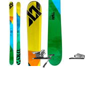 Volkl Wall Skis + Salomon STH 10 Bindings 2013