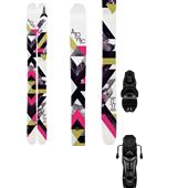 Atomic Millennium Skis + Rossignol Axium 120 XXL Bindings - Women's 2013