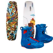 Ronix Bill ATR Wakeboard + Frank Bindings 2014