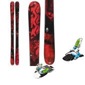 K2 Sight Skis + Marker Squire Bindings 2014