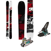 K2 Shreditor 102 Skis + Marker Jester Bindings 2014