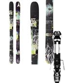 Atomic Access Skis + Atomic Tracker 13 Small AT Bindings 2014