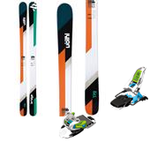 Volkl Bridge Skis + Marker Squire Bindings 2014