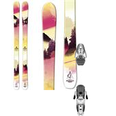 Salomon Q-88 Lux Skis + Salomon Z10 Ti Bindings - Women's 2014