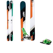 Volkl Bridge Skis + Look Pivot 14 Bindings 2014