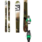 Salomon Suspect Skis + STH2 13 Bindings 2014