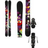 Line Skis Soulmate 98 Skis - Women's + Atomic FFG 12 Ski Bindings 2014