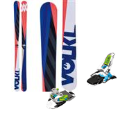 Volkl Kink Skis + Marker Squire Bindings 2014