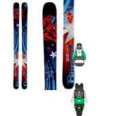 Blizzard Cochise Skis + Salomon STH2 13 Ski Bindings 2014