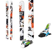 Atomic Panic Skis + Marker Squire Bindings 2014