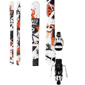 Atomic Panic Skis + STH2 13 Bindings 2014