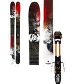 K2 Annex 118 Skis + Atomic Tracker 16 Large AT Ski Bindings 2014