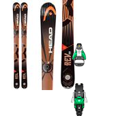 Head REV 90 Skis + Salomon STH2 13 Bindings 2014