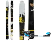 K2 Annex 98 Skis + Salomon Guardian 16 Large Alpine Touring Bindings 2014