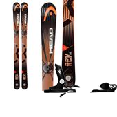 Head REV 90 Skis + Rossignol Axial2 120 Bindings 2014
