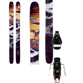 Atomic Bent Chetler Skis + STH2 16 Bindings 2014