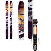 Atomic Bent Chetler Skis + Atomic Tracker 16 AT Bindings 2014