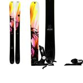 K2 Remedy 117 Skis - Women's + Rossignol Axial2 120 Ski Bindings 2014