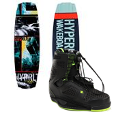 Hyperlite Franchise Wakeboard + Team CT Bindings 2014