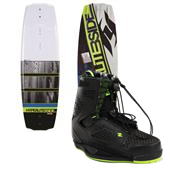 Hyperlite B-Side Wakeboard + Team CT Bindings 2014