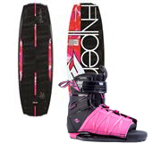 Hyperlite Maiden Wakeboard + Syn Bindings - Women's 2014