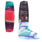 Hyperlite Eden 2.0 Wakeboard + Blur Bindings - Women's 2014