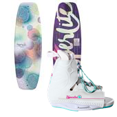 Hyperlite Divine Jr. Wakeboard + Allure Bindings - Girl's 2014