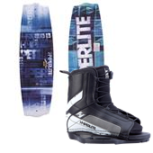 Hyperlite State 2.0 Jr. Wakeboard + Hyperlite Remix Jr. Bindings - Boy's 2014