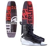Hyperlite Motive Jr. Wakeboard + Hyperlite Remix Bindings - Boy's 2014