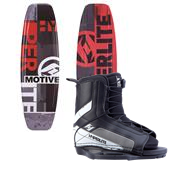 Hyperlite Motive Jr. Wakeboard + Hyperlite Remix Jr. Bindings - Boy's 2014